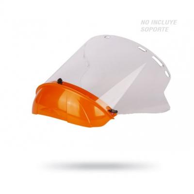 Protector facial CILÍNDRICO CON MENTONERA 1