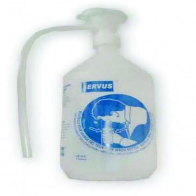 Botella lavaojos SERVUS